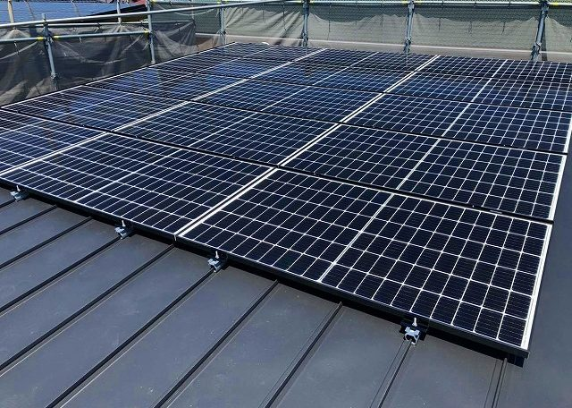 愛知県I市S様 0円太陽光発電システム設置工事