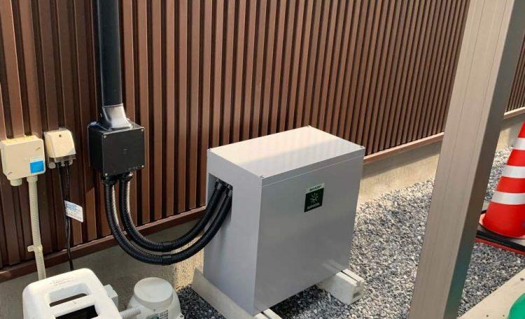 三重県T市O様 蓄電池設置工事