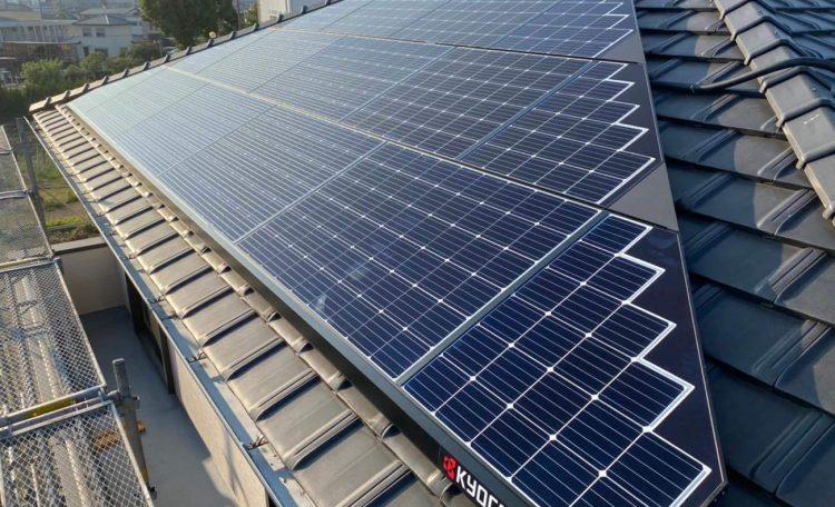 岐阜県M市Y様 太陽光発電システム設置工事