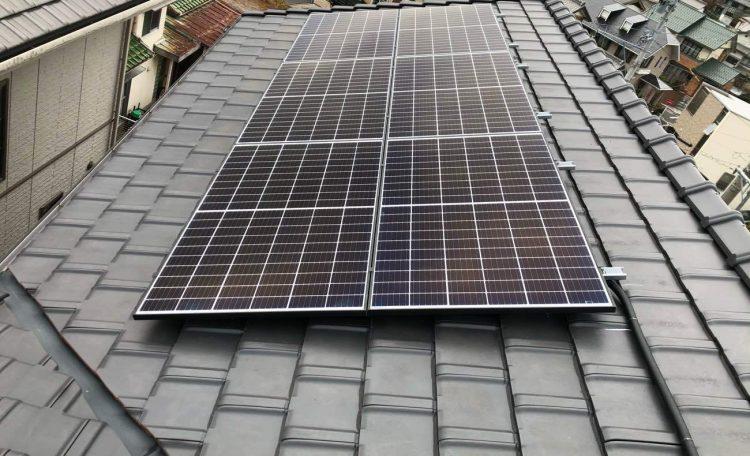 愛知県N市S様 0円太陽光システム設置工事