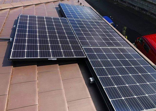 埼玉県K市T様邸 0円太陽光発電システム設置