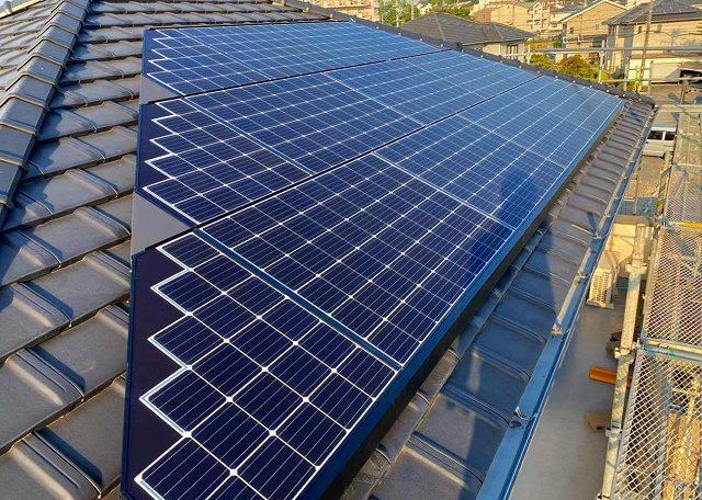 岐阜県G市Y様 太陽光発電システム設置工事