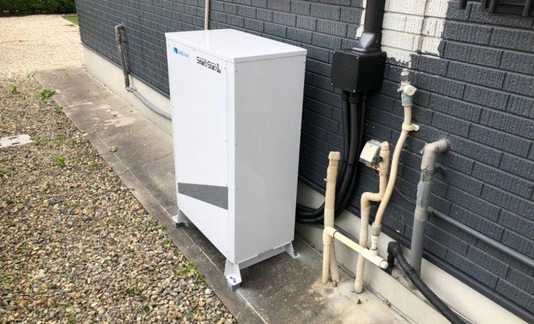 愛知県O市A様 蓄電池設置工事