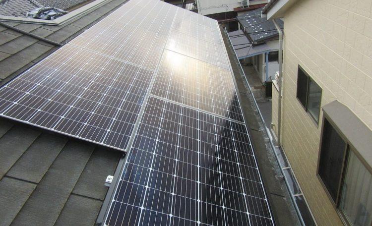千葉県K市N様 0円太陽光発電システム設置工事
