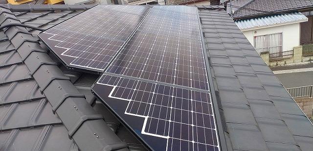 愛知県I市A様邸 太陽光発電システム設置工事