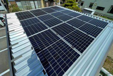 三重県K市O邸 太陽光発電システム設置工事