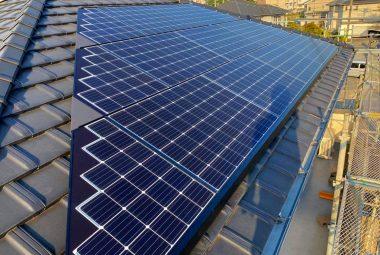 千葉県T市A邸 0円太陽光発電システム設置工事