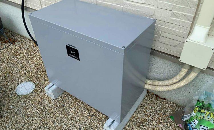 三重県N市N邸 蓄電池設置工事