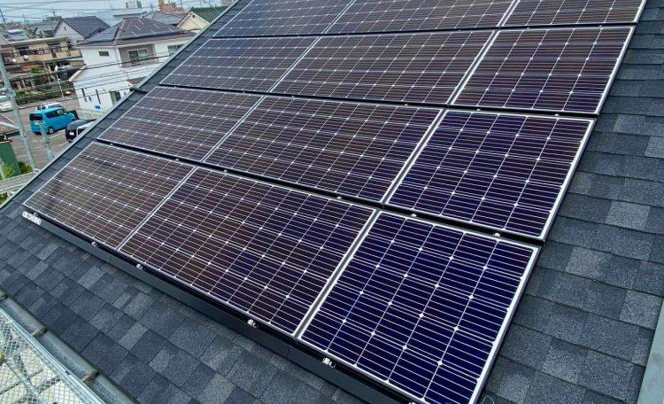 愛知県K市K邸 太陽光発電システム設置工事