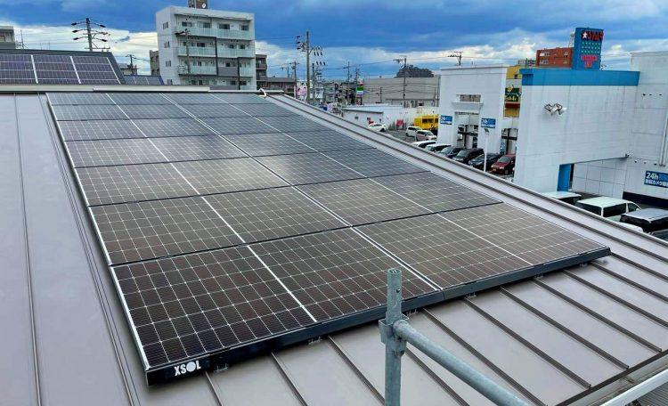 愛知県K市A邸 0円太陽光発電システム設置工事